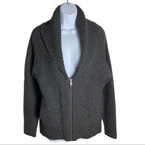 Aritzia TNA Gray Telluride Wool Sweater Size XS